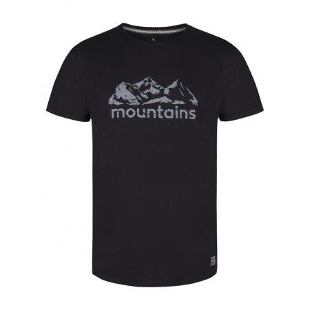 Pánské triko s krátkým rukávem LOAP BUSON CLM1884 ČERNÁ