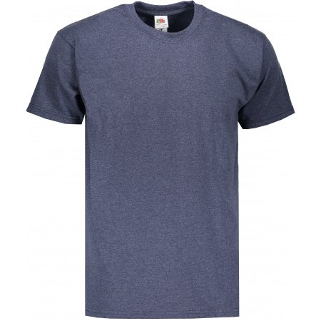 Pánské tričko FRUIT OF THE LOOM VALUEWEIGHT T VINTAGE HEATHER NAVY