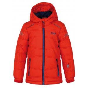 Chlapecká lyžařská bunda LOAP FALDA L8103 ORANŽOVÁ