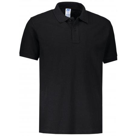 Pánské triko s límečkem JHK POLO REGULAR MAN BLACK