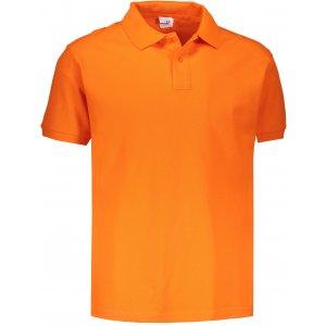 Pánské triko s límečkem JHK POLO REGULAR MAN ORANGE