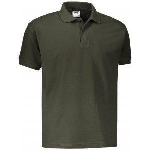 Pánské triko s límečkem JHK POLO REGULAR MAN FOREST GREEN