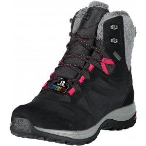 b2ec1a4c764 Dámské zimní boty SALOMON ELLIPSE WINTER GTX L40469900 BLACK PHANTOM CERISE.