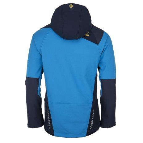 Pánská zimní softshellová bunda  KILPI ZENITH-M JM0108KI MODRÁ