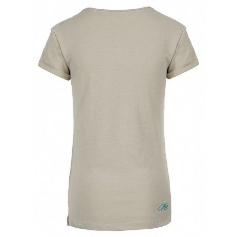 Dámské triko KILPI YANI-W JL0228KI BÉŽOVÁ
