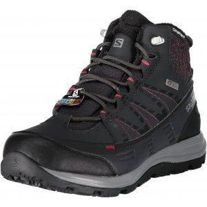 b13995fe55f Dámské zimní boty SALOMON KAÏNA CS WP 2 L40472800 PHANTOM BLACK BEET RED