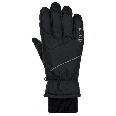 Lyžařské rukavice KILPI TATA-U JU0159KI ČERNÁ