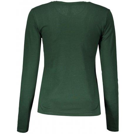 Dámské triko s dlouhým rukávem KARIBAN FOREST GREEN