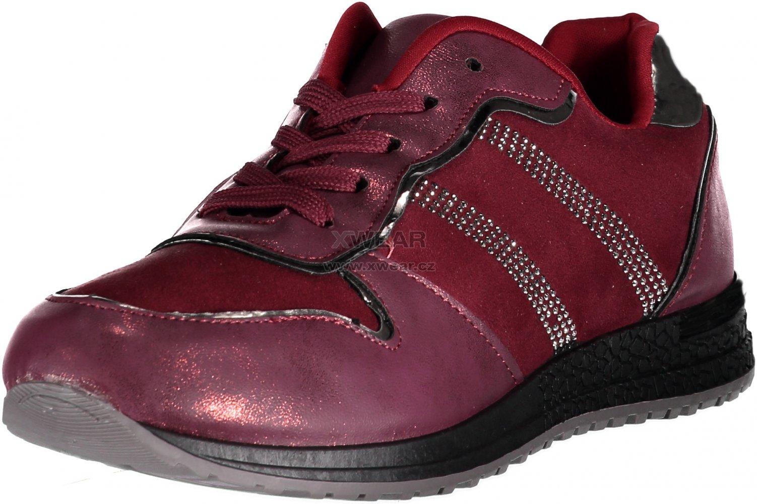 1e577bb19d8 Dámské boty VICES 8438-42 RED velikost  36   XWEAR.cz