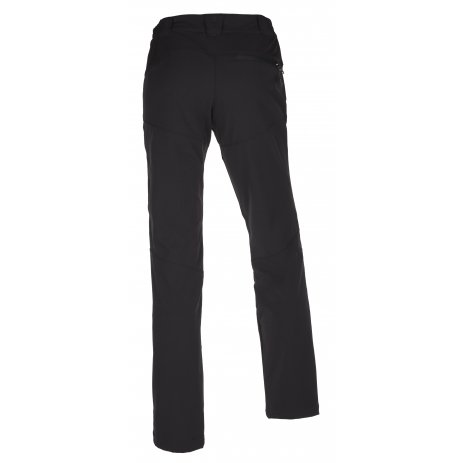 Dámské softshellové kalhoty KILPI LAGO-W JL0145KI ČERNÁ