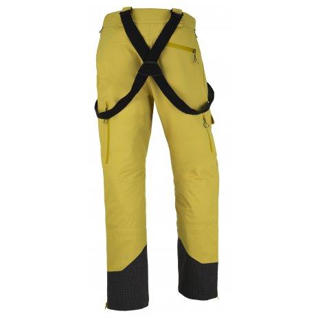 Pánské zimní kalhoty KILPI LAZZARO-M JM0126KI ŽLUTÁ