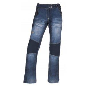 Dámské zimní softshellové kalhoty KILPI JEANSO-W JL0023KI MODRÁ