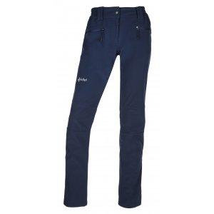 Dámské softshellové kalhoty  KILPI MANILOU-W JL0210KI TMAVĚ MODRÁ
