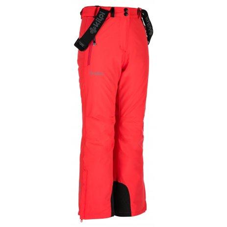 Dívčí lyžařské kalhoty  KILPI EUROPA-JG JJ0045KI RŮŽOVÁ