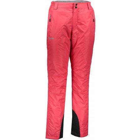 Dámské lyžařské kalhoty  KILPI GABONE-W JL9002KI RŮŽOVÁ