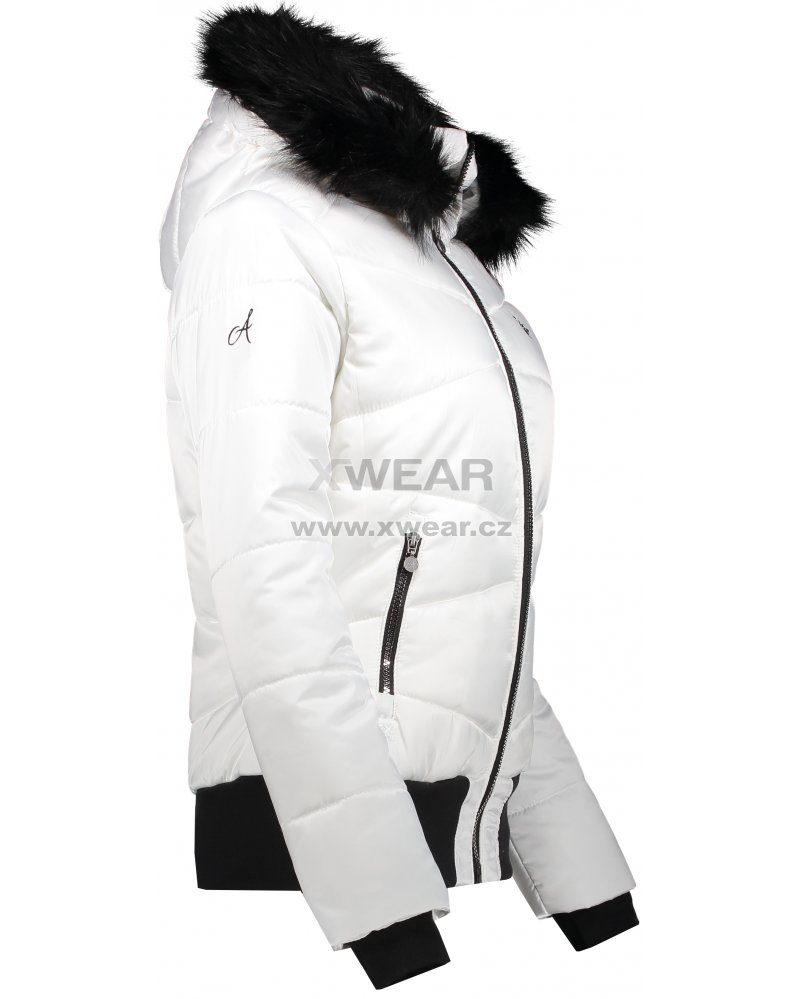 Dámská zimní bunda ALTISPORT TATRE BÍLÁ velikost  44   XWEAR.cz 16a9aad13bd