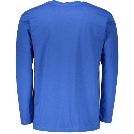 Pánské triko s dlouhým rukávem STEDMAN CLASSIC T BRIGHT ROYAL