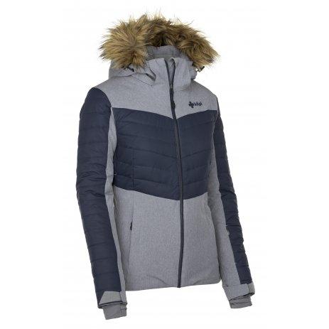Dámská lyžařská bunda  KILPI BREDA-W JL0112KI ŠEDÁ