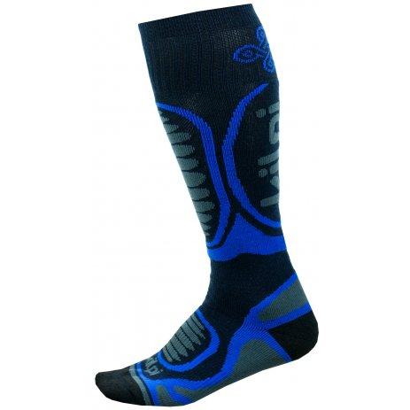 Dětské lyžařské ponožky  KILPI ANXO-J JJ0060KI TMAVĚ MODRÁ