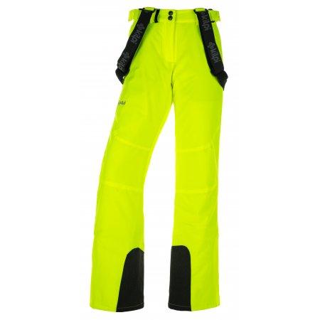 Dámské lyžařské kalhoty  KILPI ELARE-W JL0011KI ŽLUTÁ