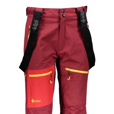 Dámské kalhoty KILPI KEKU-W JL0022KI TMAVĚ ČERVENÁ