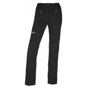 Dámské softshellové kalhoty  KILPI MANILOU-W JL0210KI ČERNÁ