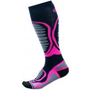 Dětské lyžařské ponožky  KILPI ANXO-J JJ0060KI RŮŽOVÁ
