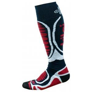 Lyžařské ponožky KILPI ANXO-U JU0126KI TMAVĚ MODRÁ