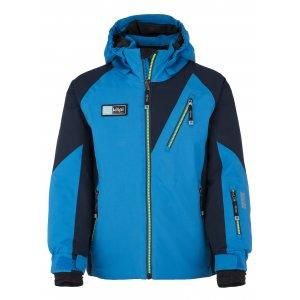 Chlapecká lyžařská bunda  KILPI GARNEY-JB JJ0002KI MODRÁ