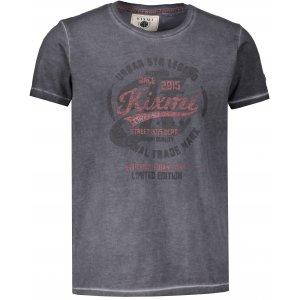 Pánské triko s krátkým rukávem KIXMI HORTON ŠEDÁ