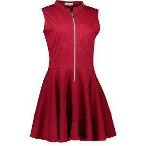 Dámské šaty NUMOCO A123-4 VÍNOVÁ