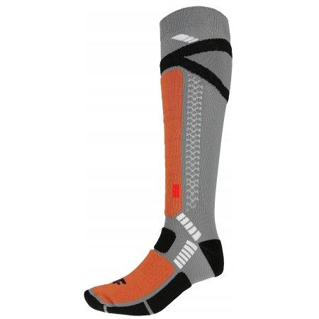 Pánské lyžařské ponožky 4F SOMN250 DARK GREY