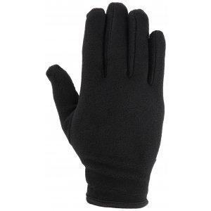 2120c424614 Fleecové rukavice 4F REU301 DEEP BLACK