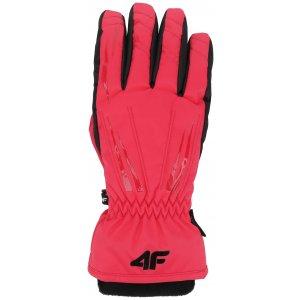 Dámské lyžařské rukavice 4F RED350 PINK 75d269d278