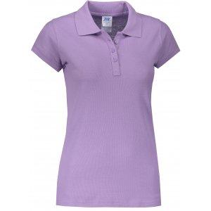 Dámské triko s límečkem JHK REGULAR LADY LAVENDER