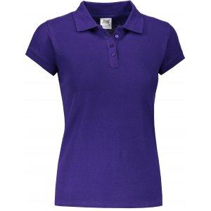Dámské triko s límečkem JHK REGULAR LADY PURPLE