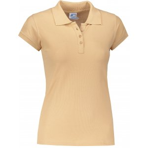 Dámské triko s límečkem JHK REGULAR LADY SAND