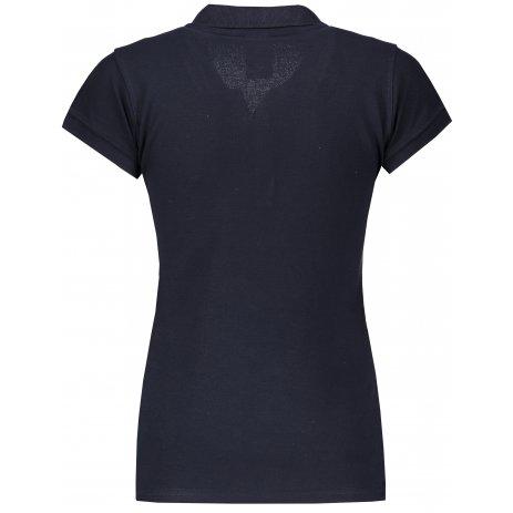 Dámské triko s límečkem JHK REGULAR LADY NAVY
