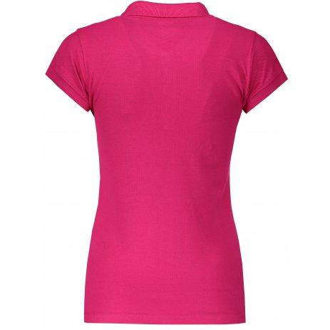 Dámské triko s límečkem JHK REGULAR LADY RASPBERRY