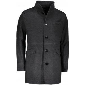 Pánský kabát OMBRE VICTOR DARK GREY
