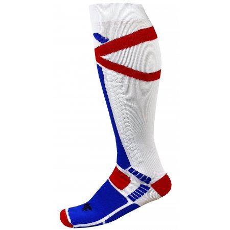 Pánské lyžařské ponožky 4F SOMN250 WHITE