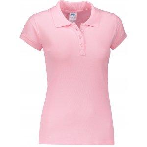 Dámské triko s límečkem JHK REGULAR LADY PINK