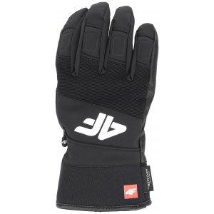 ee008a26a38 Pánské lyžařské rukavice 4F REM250 DEEP BLACK