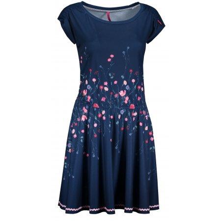 Dámské šaty KIXMI HILLARY TMAVĚ MODRÁ