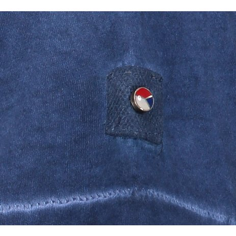 Pánské triko s krátkým rukávem KIXMI HADLEY TMAVĚ MODRÁ