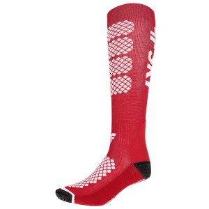 Dámské lyžařské ponožky 4F SODN250 RED