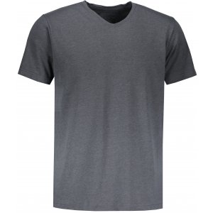 Pánské triko s krátkým rukávem ALTISPORT ZORK MTSN423 TMAVĚ ŠEDÁ