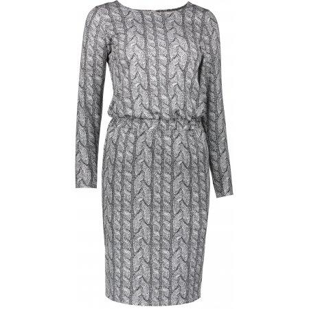 Dámské šaty NUMOCO A172-1 ŠEDÁ