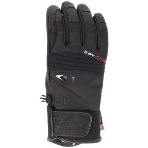 Pánské lyžařské rukavice 4F REM152 DEEP BLACK dc0456425c