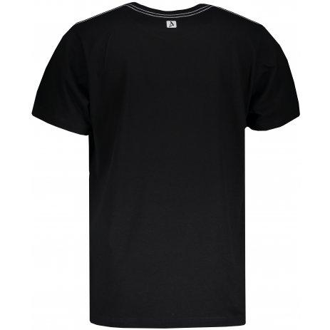 Pánské triko s krátkým rukávem ALTISPORT SLUNEK MTSN422 ČERNÁ